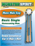 Ebook - PDF Download - Basic Homecoming Mum Instructions by Monster Spirit